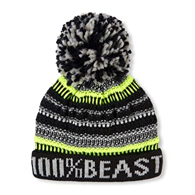 b80e55967eeab2 The Children's Place Big Boys' Beanie Cold Weather Hat: Amazon.in ...