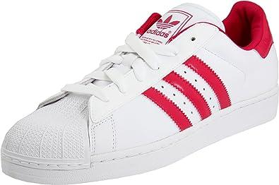 new concept 11197 f7d22 adidas Originals Women s Superstar 2 Sneaker,White Pink Buzz,10.5 ...