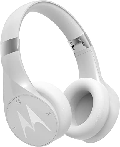 Motorola Pulse Escape Wireless Over-Ear Headphones – White