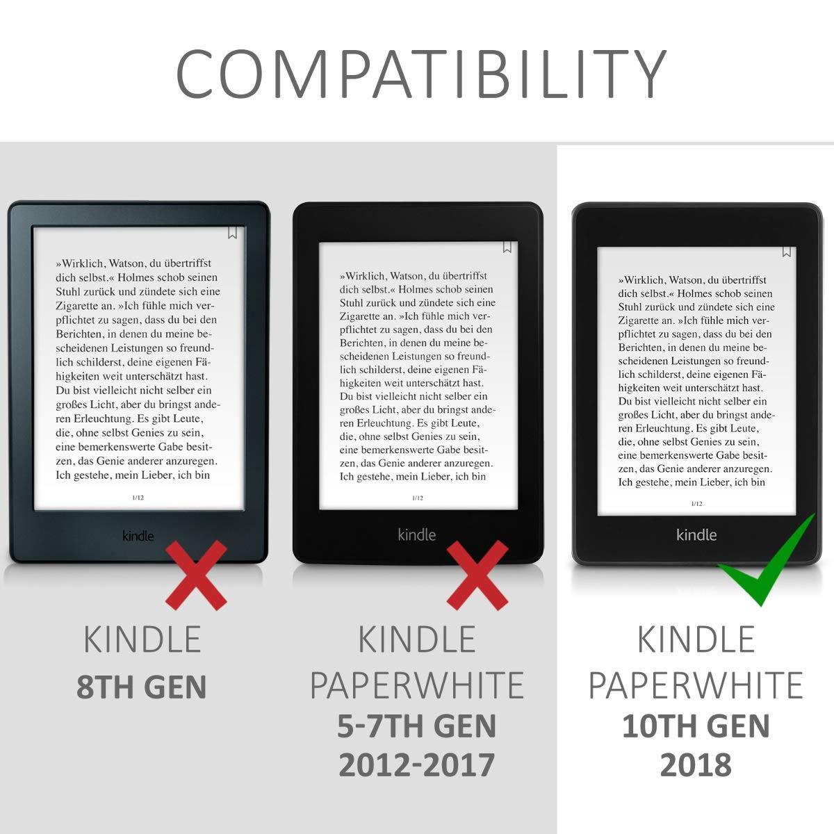 kwmobile Funda para Amazon Kindle Paperwhite (10. Gen: Amazon.es ...