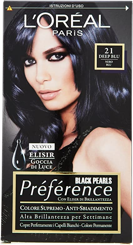 PREFERENCE 21 nero blu - Tintes para el cabello: Amazon.es ...