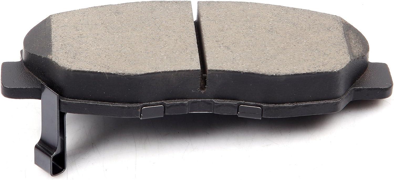 Brake Pads,ECCPP 4pcs Front Ceramic Disc Brake Pads Kits for 1998 1999 2001 2002 Honda Accord,1996 1997 1998 1999 2000 2001 2002 2003 2004 2005 2006 2007 2009 2010 2011 Honda Civic