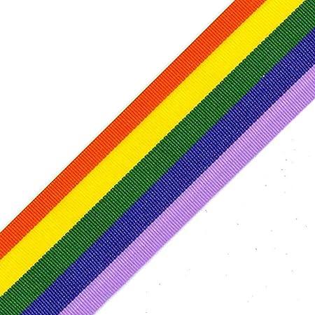 Per Metre Berisfords Ribbon 9mm Yellow Velvet