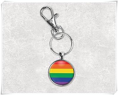 Gay pride keychain rainbow keychain mens keychain  511392a67aa2