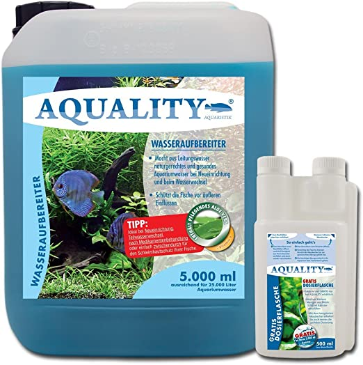 aquality de purificador de agua 5000 ml: Amazon.es: Productos para mascotas