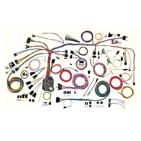 amazon com american autowire 500886 wire harness system for 67 68 rh amazon com american auto wire gauge harness american auto wiring harness
