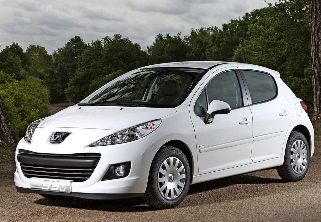 Peugeot 207 5 Porte Hayon 2007 /à 2016-50/% Light Fum/ée Pssc Pr/é D/écoup/é Avant Voiture Fen/être Film