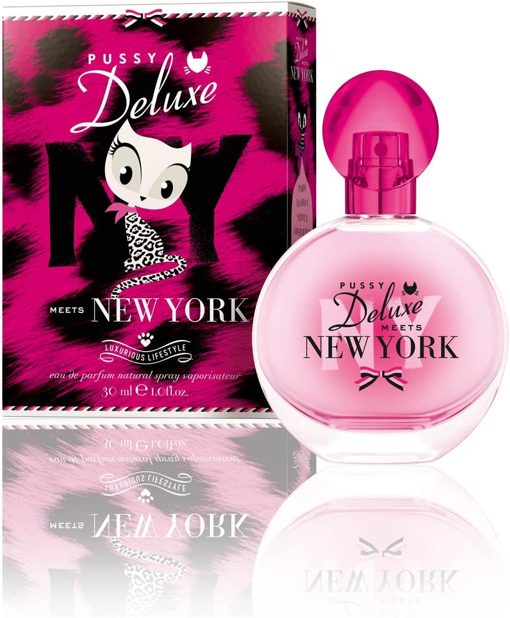Pussy Deluxe meets New York Eau de Parfum NS 30 ml by Pussy Deluxe ...