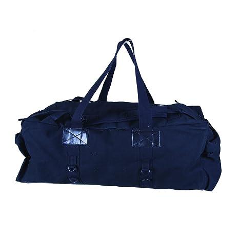 d7c571cba25 Amazon.com   Stansport Tactical Canvas Duffle Bag, Black, 34 x 15 x ...