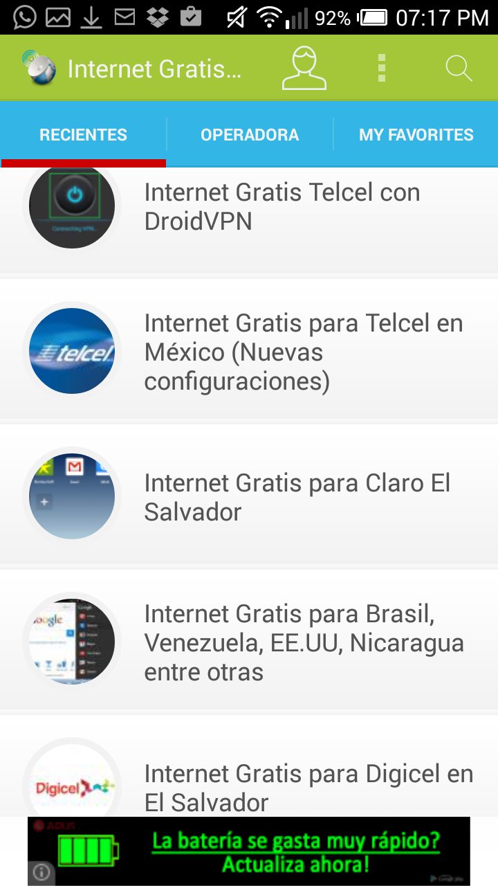 Amazon com: Internet Gratis Android: Appstore for Android