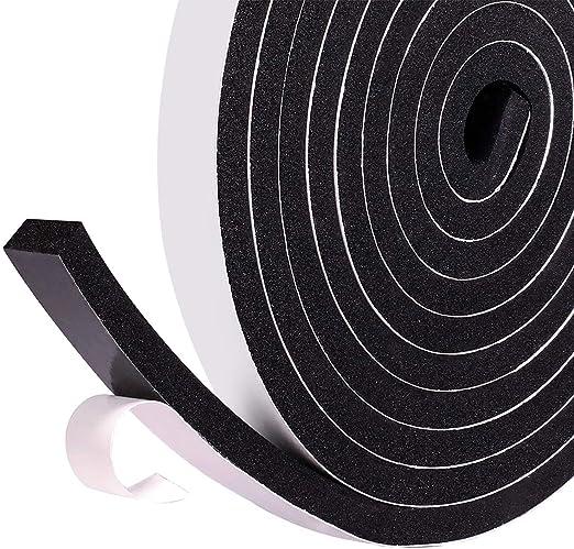 5M Schwarz Selbstklebend Abdichtung Fenster Entwurf Streifen Von Trixes Neu
