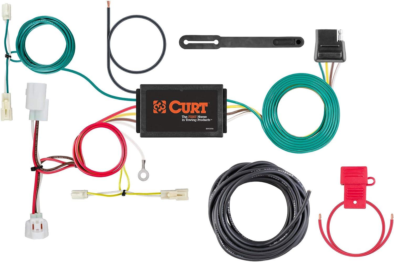 amazon.com: curt 56280 vehicle-side custom 4-pin trailer wiring harness,  select mazda 6: automotive  amazon.com