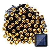 Amazon Price History for:Qedertek Solar String Lights, 39ft 100 LED Fairy Decorative Lights for Outdoor, Garden, Patio, Lawn, Party and Holiday Decorations, Waterproof (Warm White)
