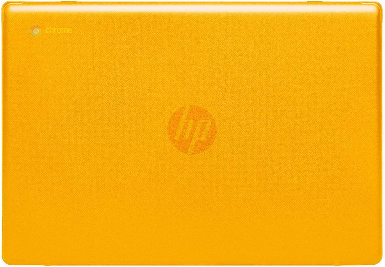 "mCover Hard Shell Case for 2020 14"" HP Chromebook 14 G6 (NOT Compatible with Older HP C14 G1 / G2 / G3 / G4/ G5 Series) laptops (Orange)"