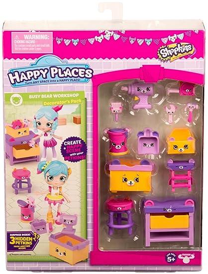 amazon com shopkins happy places season 3 decorator pack busy