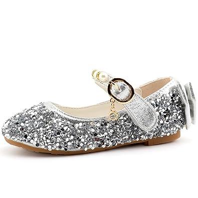 eeb3d2c146ac CCTWINS KIDS Princess Girls Dress Shoes Bow