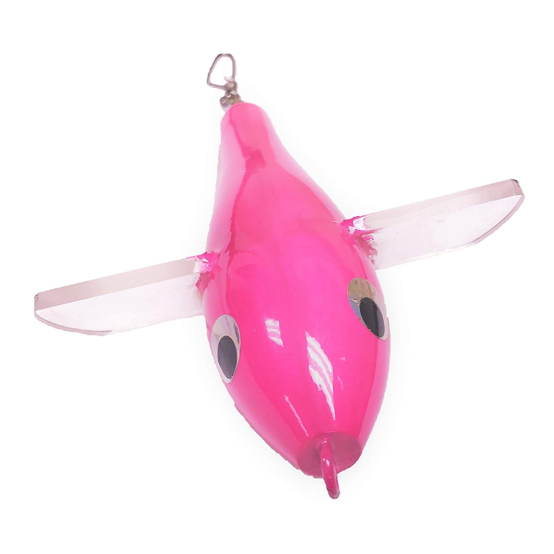 EAT MY TACKLE Big 10 Pink Bird Fishing Teaser Lure