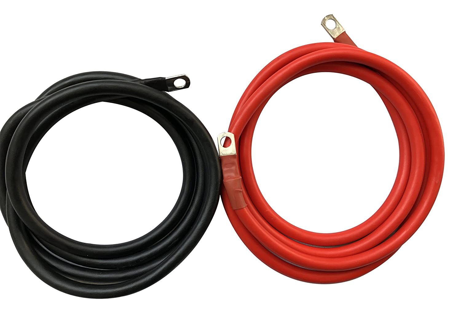 Winch Welding Cable 6 Ft Suitable for All Cars Motor Boats 25 mm/²