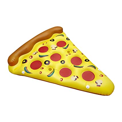 Amazon.com: Sexy Floaties Pizza flotador inflable para ...