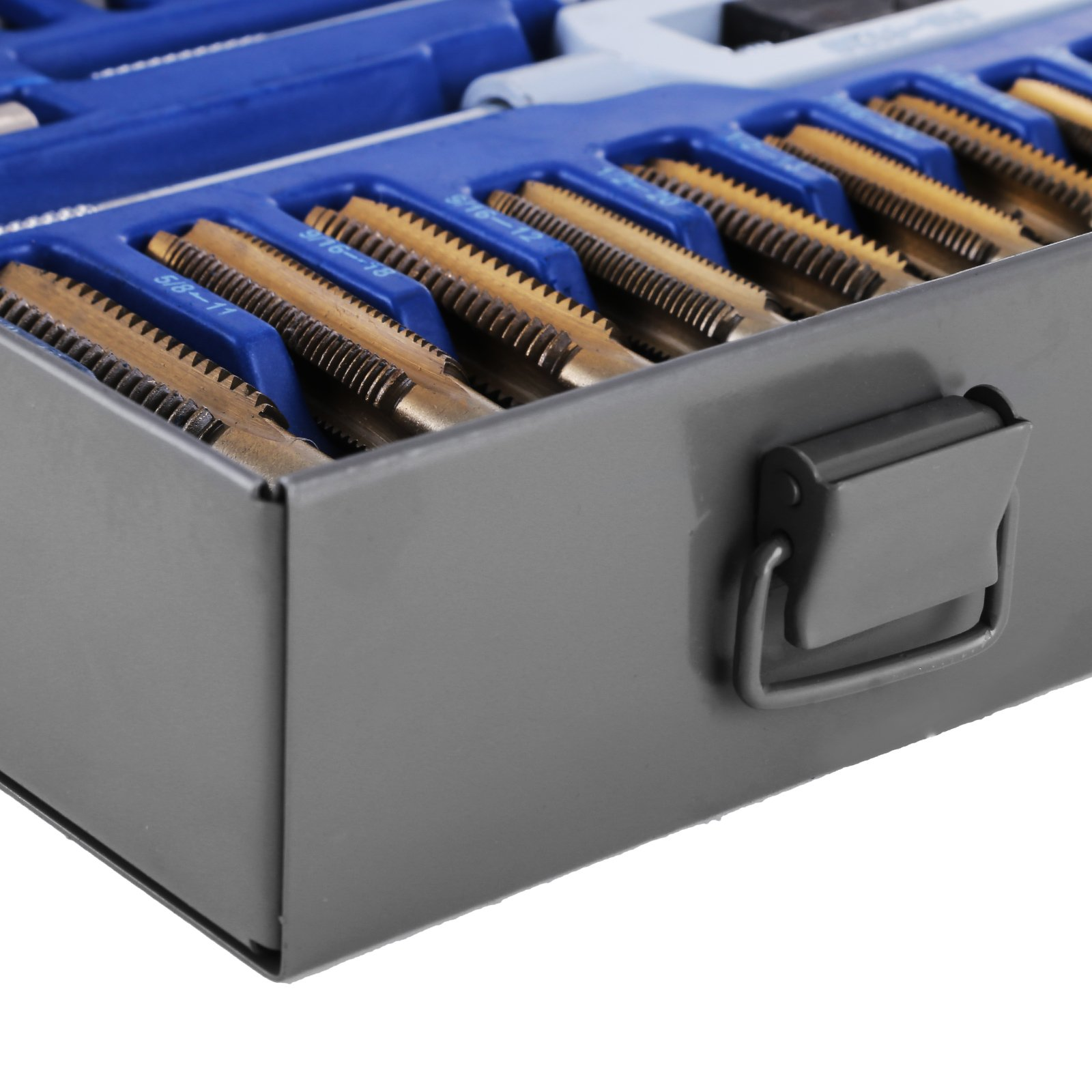 Happybuy Tap and Die Set 86PCS Combination SAE / Metric Tap and Die Kit for Cutting External and Internal Threads with Storage Case by Happybuy (Image #9)