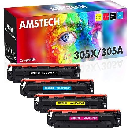 Cartuchos de tinta Amstech compatibles TN241 y TN245 para ...