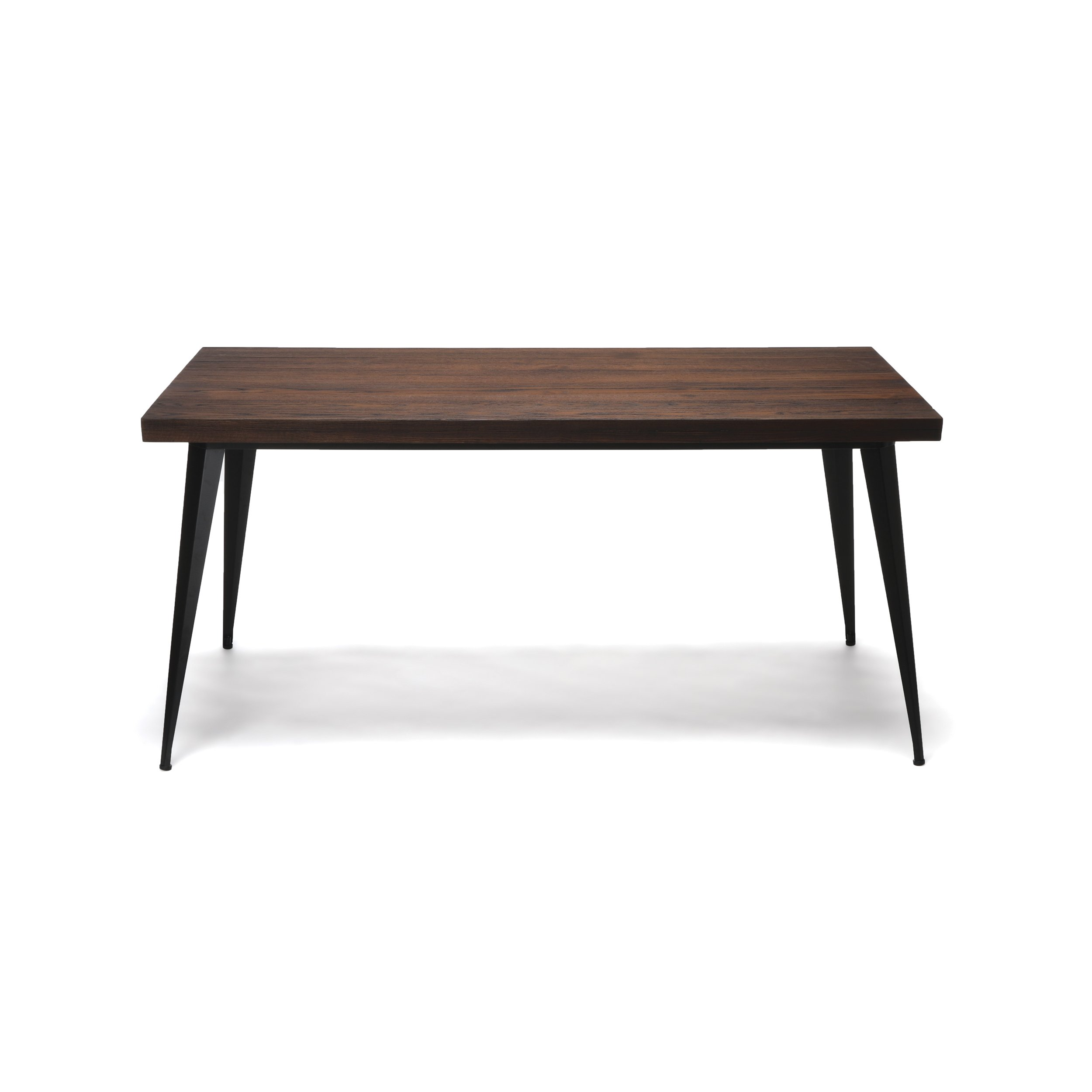 OFM Edge Series 62'' Modern Wood Desk - Walnut by OFM (Image #4)