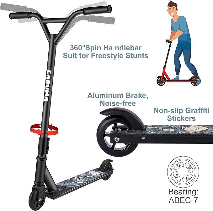 Kinderroller Cityroller Aluminium Scooter Roller Tretroller Kickroller CAROMA@1X