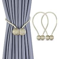 SPLF Magnetic Curtain Tiebacks, 1 Pair