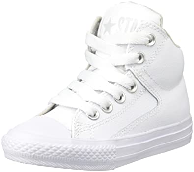 0941299ba988 Converse Kids Chuck Taylor All Star High Street Leather (Little Big Kid)