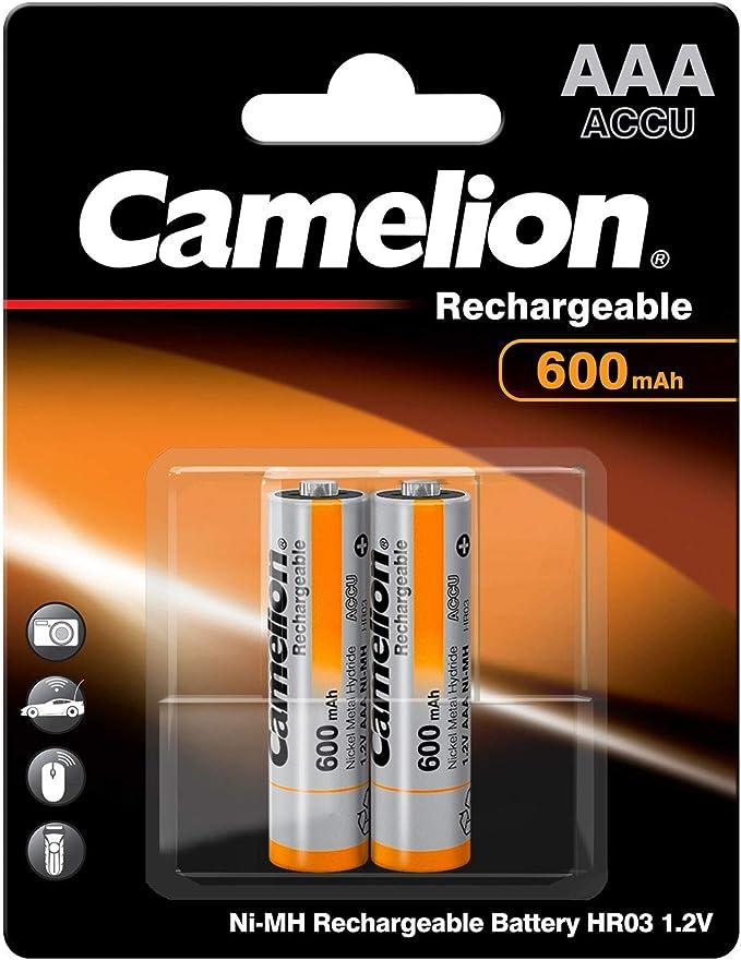 Camelion 17006203 Akku Ni Mh Hr03 Micro 600mah Elektronik