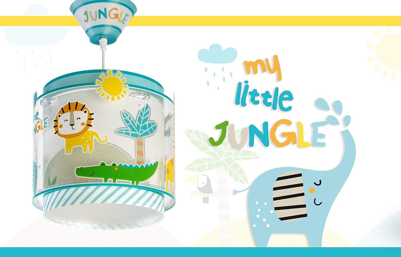 bunt Dalber My Little Jungle kinder tischlampe 40 W Kunststoff