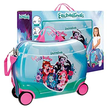 Enchantimals Fur Ever Besties Equipaje Infantil, 50 cm, 34 litros: Amazon.es: Equipaje