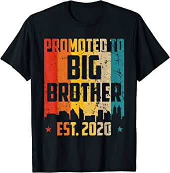Amazon.com: Promoted To Big Brother 2020 Funny Baby ...