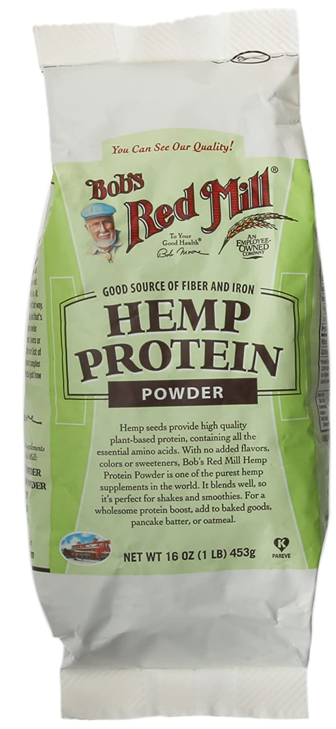 Hemp powder nutrition