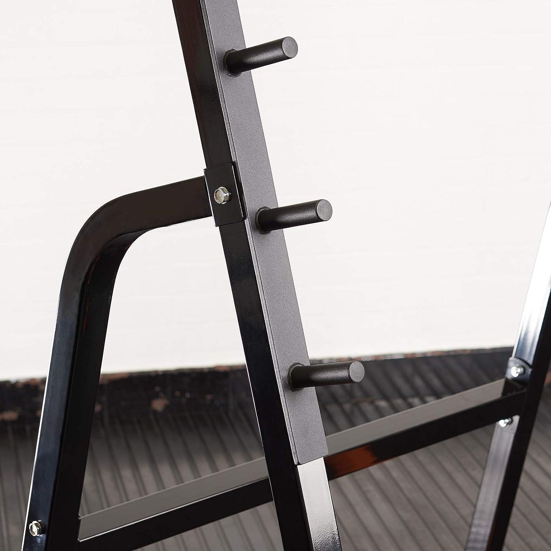 Mirafit Heavy Duty Weight Lifting Rack & Bench Press Spotter