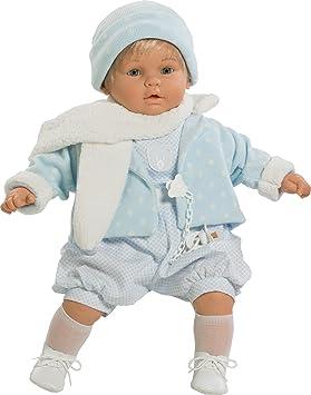 Amazon.es: Berbesa berbesa8035 62 cm bebé muñeca Llora para Eliminar ...