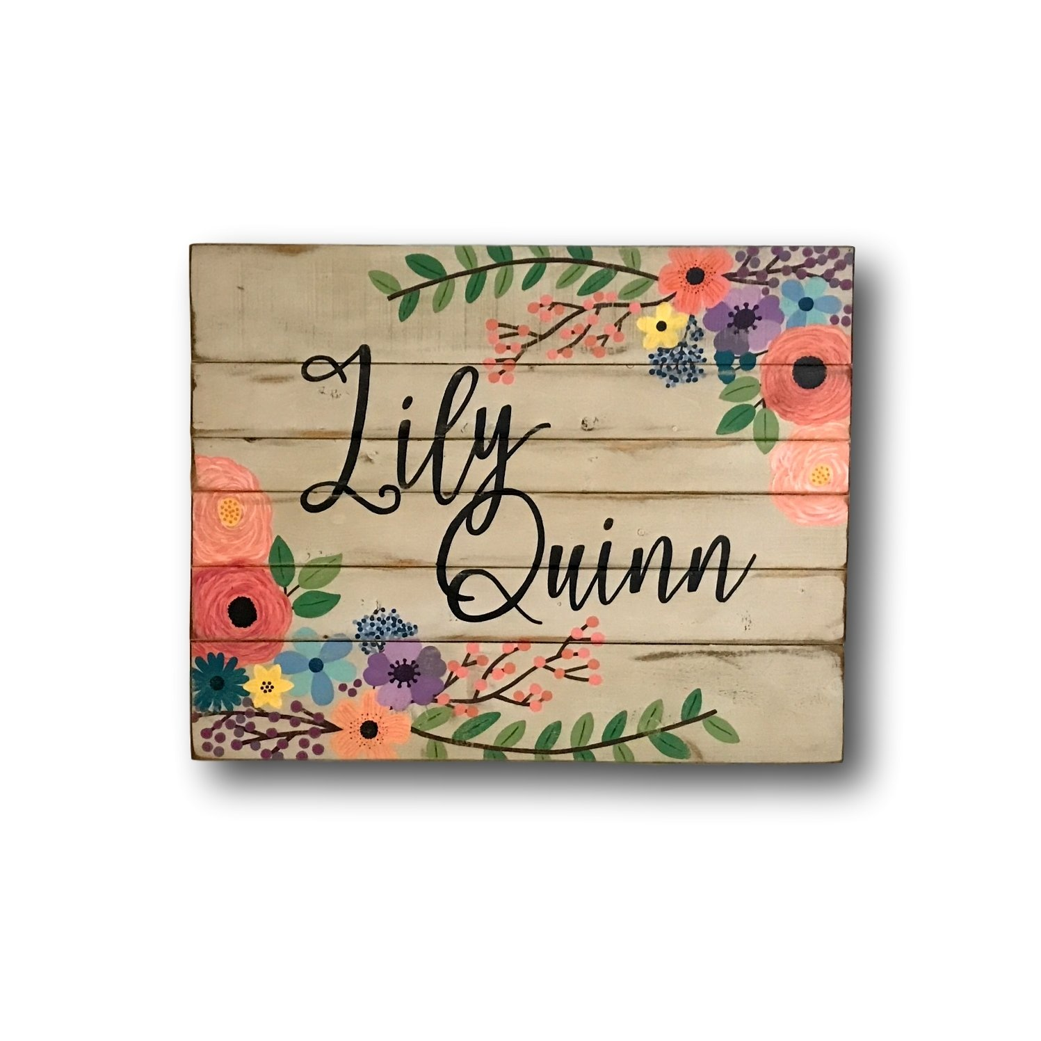 Wooden Name Sign Wall Letters Laser Cut Wood Name Personalized Name Sign Multi Colors Words Nursery Sign 1st Bidthday Gift Baby Shower Gift