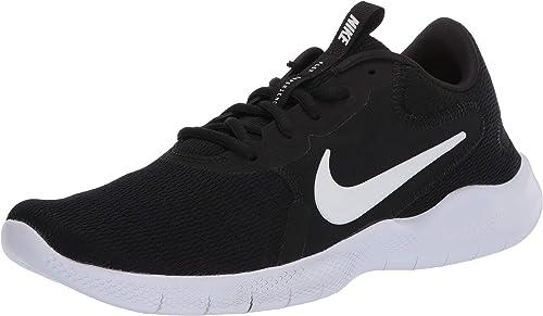 Nike New Girls Flex Experience 5 Print Athletic Shoe Black//White 10.5