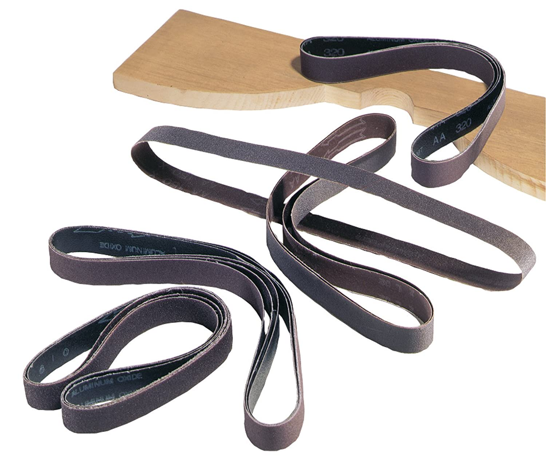 DELTA 31-372 1-Inch x 42-Inch 80 Grit Sanding Belts (5-Pack)