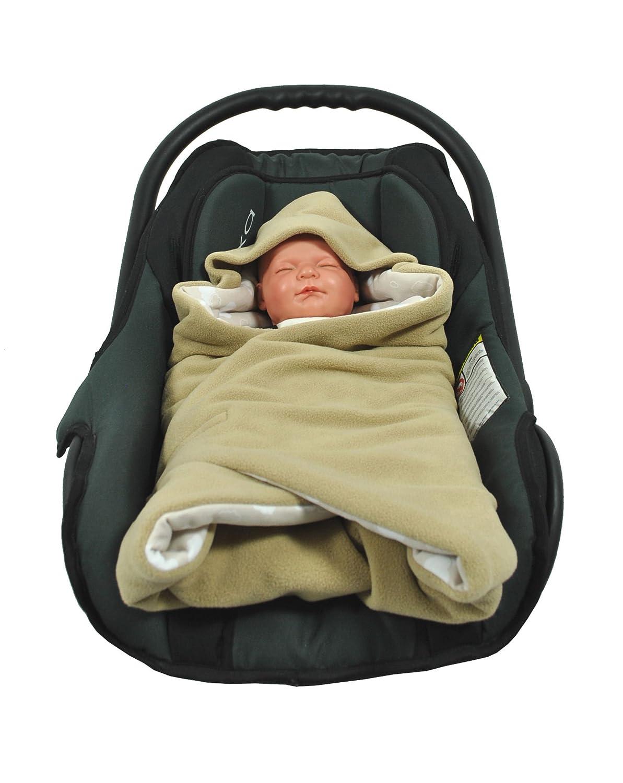 HOBEA Baby Seat Wrap Blanket Red Light//Blue