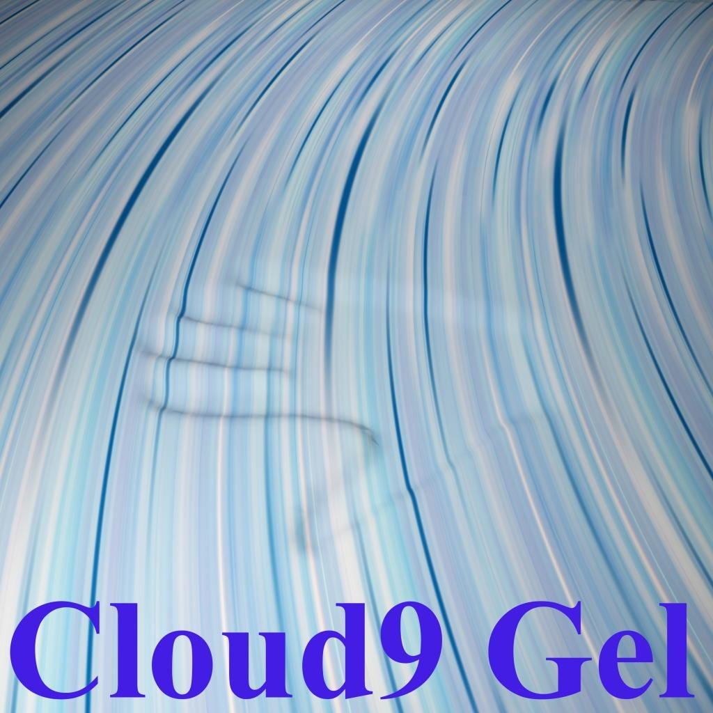 Cloud9 Gel Cal-King 3 Inch 100% Gel Infused Visco Elastic Memory Foam Mattress Topper by Cloud9 Bedding Memory Foam