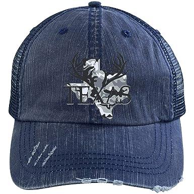 TXRepublic Texas Tribal Distressed Unstructured Trucker Cap