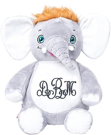 Amazon Com Personalized Stuffed Signature Elephant With