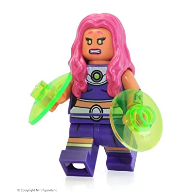 LEGO Super Heroes DC Universe Batman Minifigure - Starfire from Jokerland (76035): Toys & Games