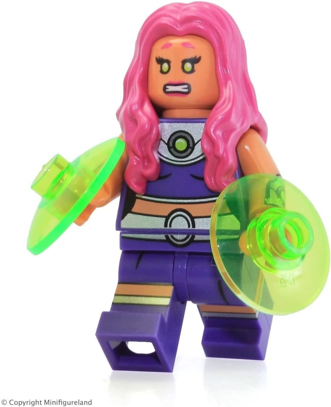 LEGO Super Heroes DC Universe Batman Minifigure - Starfire from Jokerland (76035)