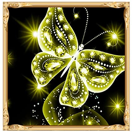 5D DIY Diamond Painting kit Rhinestone Embroidery Cross Stitch Arts for Craft Home Wall Decor,Lotus Leaf Frog 10x10 Inch