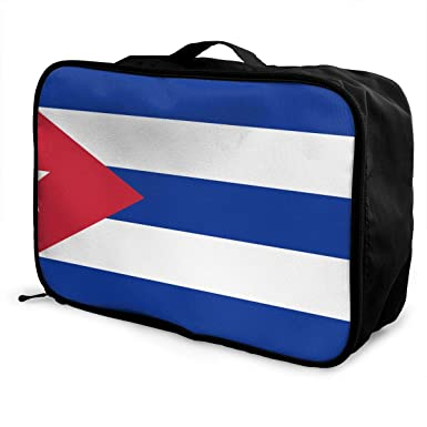 Amazon.com: Bolsa de viaje para hombre y mujer, bandera de ...