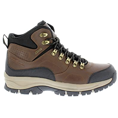 Eddie-Bauer-Brad-Leather Upper-100% waterproof hiking boots( Style Brad) size 10