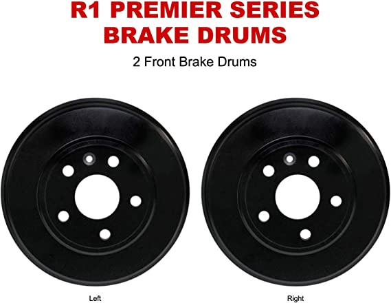 P-100 Front R1 Concepts Brake Drum For 1953-1963 Ford F Series