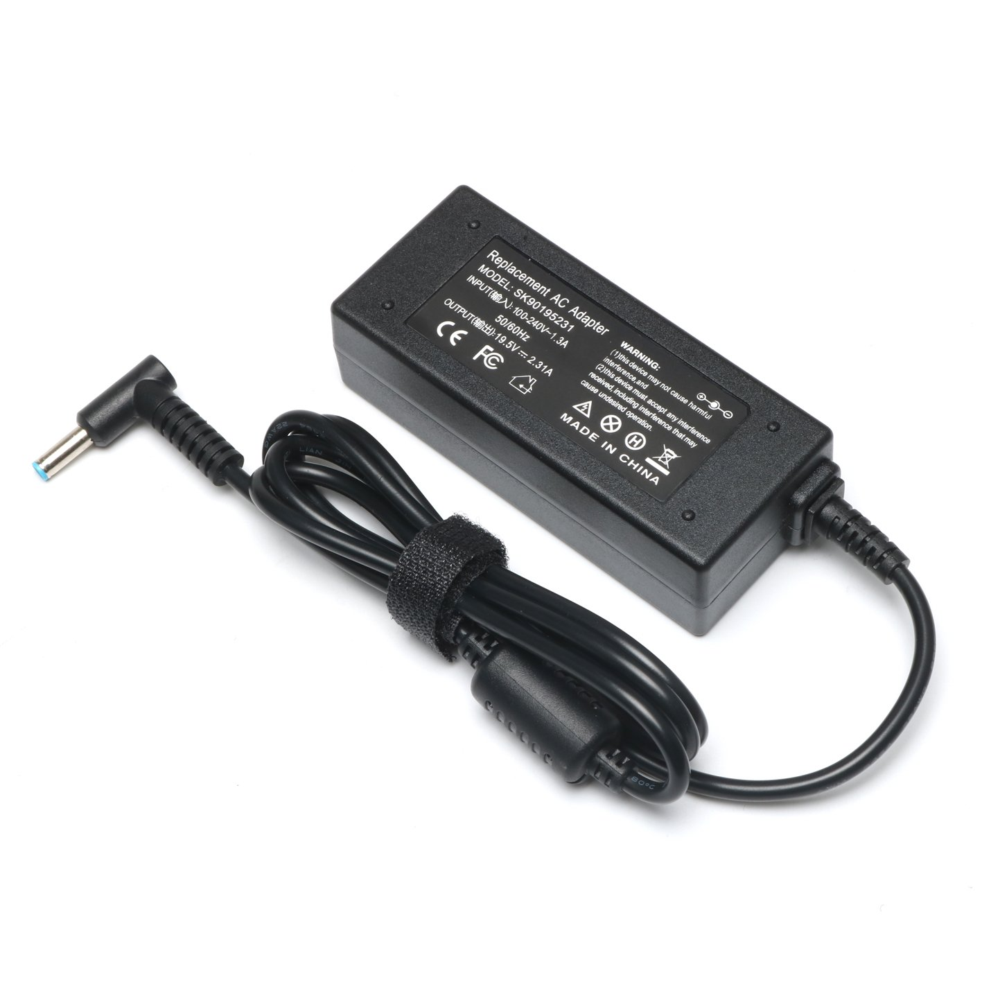 19V 2.31A 45W Ac Adapter/Power Cord Supply for Hp Stream 11 13 14; Hp Pavilion X2 11 13 15; P/N: 719309-001 719309-003 721092-001 741727-001 740015-001 HSTNN-CA40 ADP-45WD B by ROLADA (Image #4)